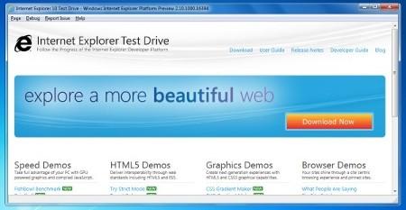 Internet Explorer 10 Windows Vista