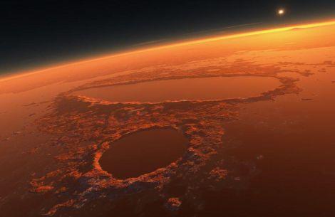 marte carbonio magma