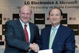 Accordo Microsoft Lg cellulari mobile computing