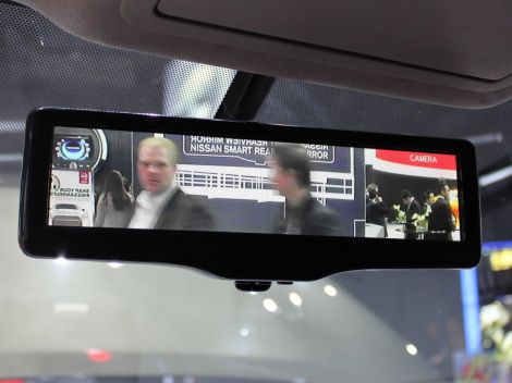 nissan smart rearview