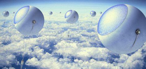 palloni solari a