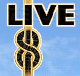 Dettaglio del logo di Live 8