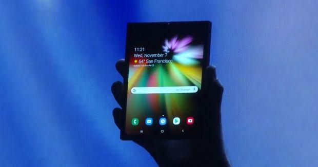 Samsung svela lo smartphone pieghevole con Infinity Flex Display