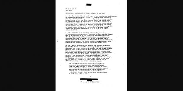 parapsychology in the ussr