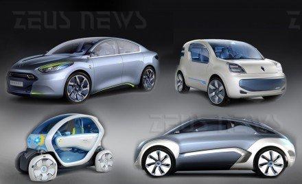 Auto elettriche proposte da Renault