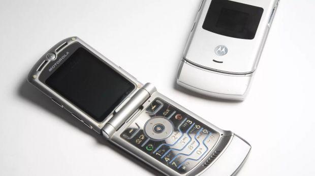 motorola RAZR smartphone pieghevole
