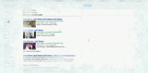 google let it snow