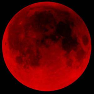 Luna rossa eclissi solstizio inverno 400 anni