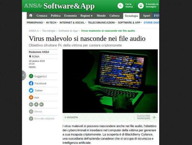 audio malware