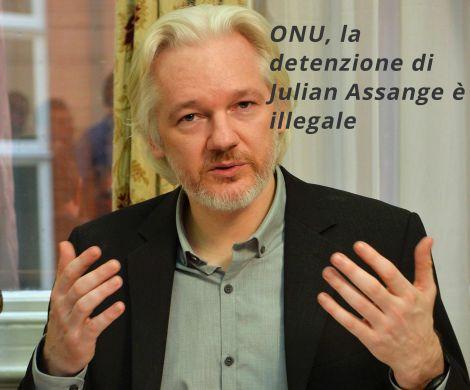 assange detenzione illegale