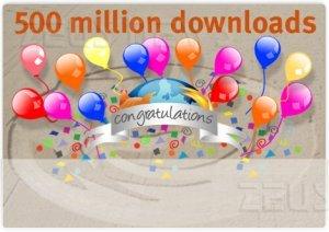 500 milioni di download per Firefox