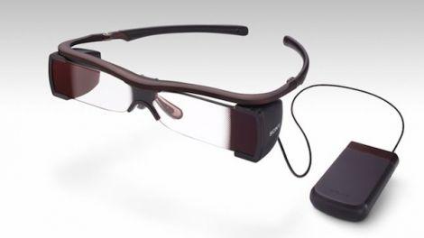 sony occhiali sottotitoli