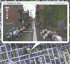 Pittsburgh Northside Google Street View