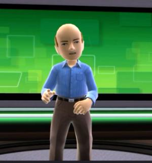 Ballmer Avatar Kinect PC Windows