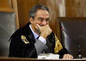 Giudice Oscar Magi minacce Facebook sentenza Googl
