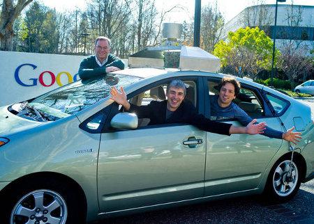 Google Prius robot incidente tamponamento