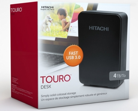 hitachi Touro Desk USB3 4 TB
