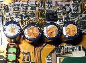 Dell condensatori difettosi nascosti