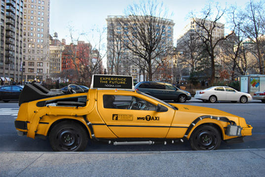 DeLorean NYC Taxi Mike Lubrano 1