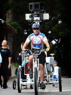 Google tricicli Street View