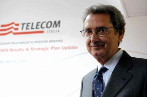 Franco Bernabe Telecom opac scorporo