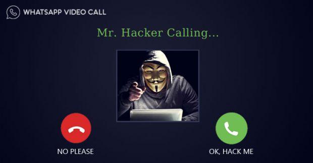 whatsapp chiamata hack