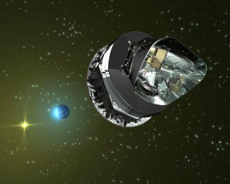 Planck Surveyor nubi fredde foschia