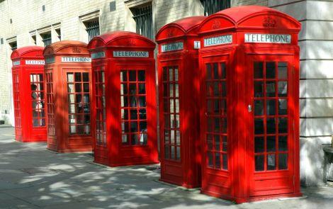 londra cabine telefoniche wifi