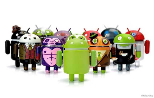 android cambia logo dolci