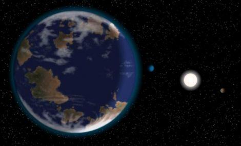 super earth alien planet