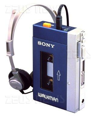 Sony Walkman TPS-L2 30 anni antenato Apple iPod