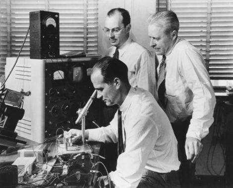 Bell Labs Transistor team