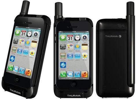 thuraya satsleve iphone
