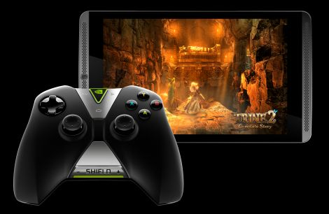 SHIELD tablet SHIELD controller Trine2