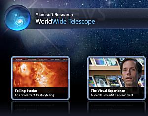 Da Microsoft l'esplorazione spaziale via Internet