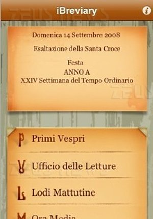 Apple iPhone iBreviary don Paolo Padrini breviario