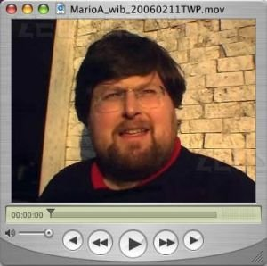 Il blogger Mario Adinolfi