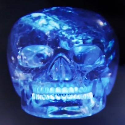 teschio di cristallo