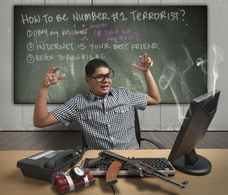 M gmail terroristi