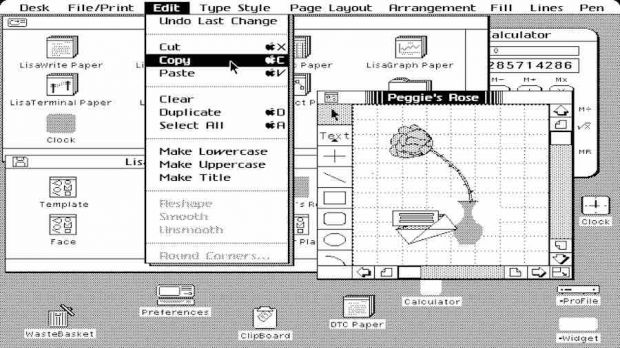 apple lisa screenshot os