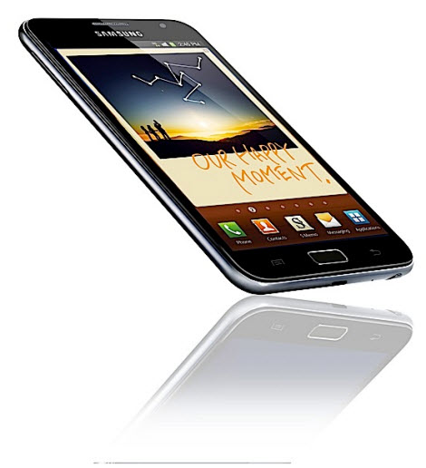 Samsung Galaxy Note S Pen Android 2.3 tablet
