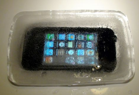 freeze iphone