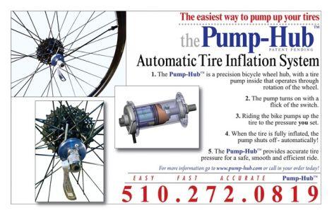 Pump Hub gonfia gomme bici