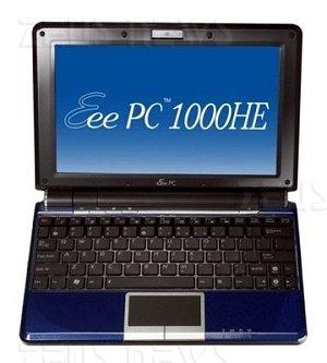 Asus Eee Pc 1000HE Intel Atom N280 chipset Gn40