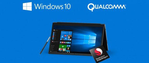 windows 10 qualcomm intel