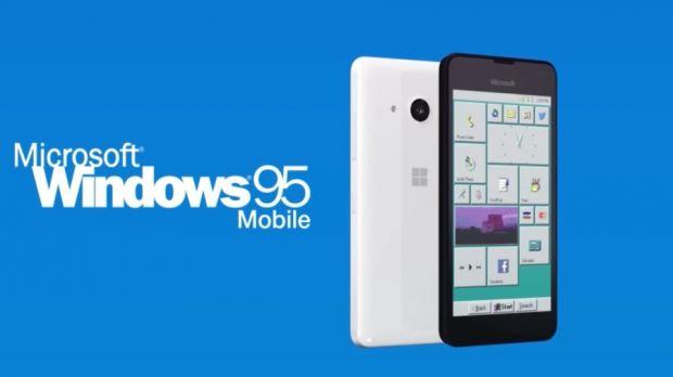 Windows 95 Smartphone