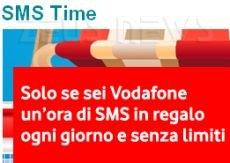 SMS Time, l'aperitivo di Vodafone