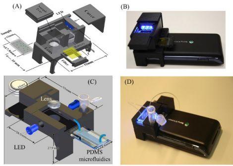 smartphone microscopio