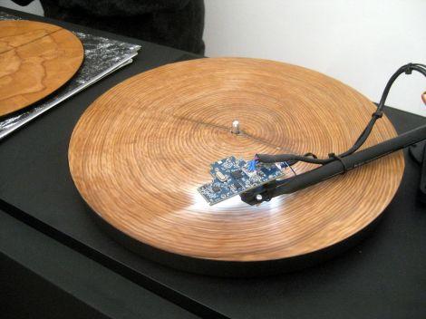 disco legno traubeck