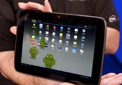 Intel tablet Android Medfield Atom